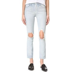 3x1 NYC Straight Authentic Crop Jeans NWOT